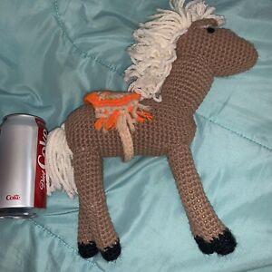 Horse Stuffed Animals & Cuddly Toys Crochet Plush Doll, horse ...   300x300