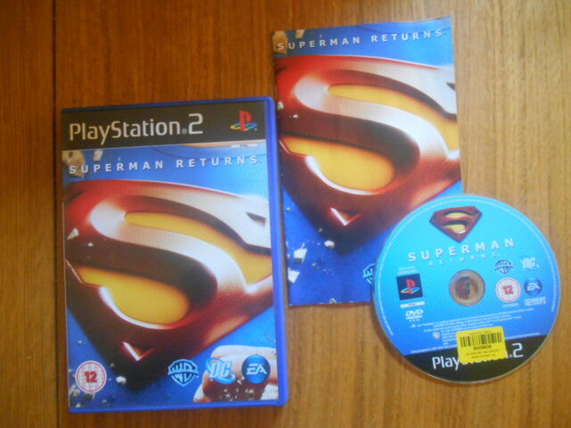 Superman Returns / Jeu PS2 / Complet / Version UK