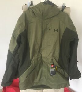 NWT-2018-UA-Under-Armour-Stormproof-Emergent-Jacket-Mens-L-Large-Green-we136