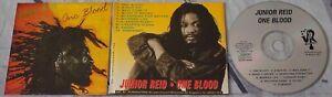 Junior-Reid-One-Blood-CD-Album-Reggae-Roots-Dancehall-1989