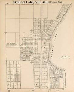 WASHINGTON COUNTY Minnesota 1938 plat Atlas maps GENEALOGY history P161
