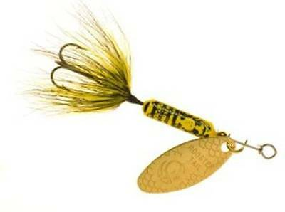 Worden's Yakima Bait Original Rooster Tail Fishing Lure Bumblebee Choice Sizes