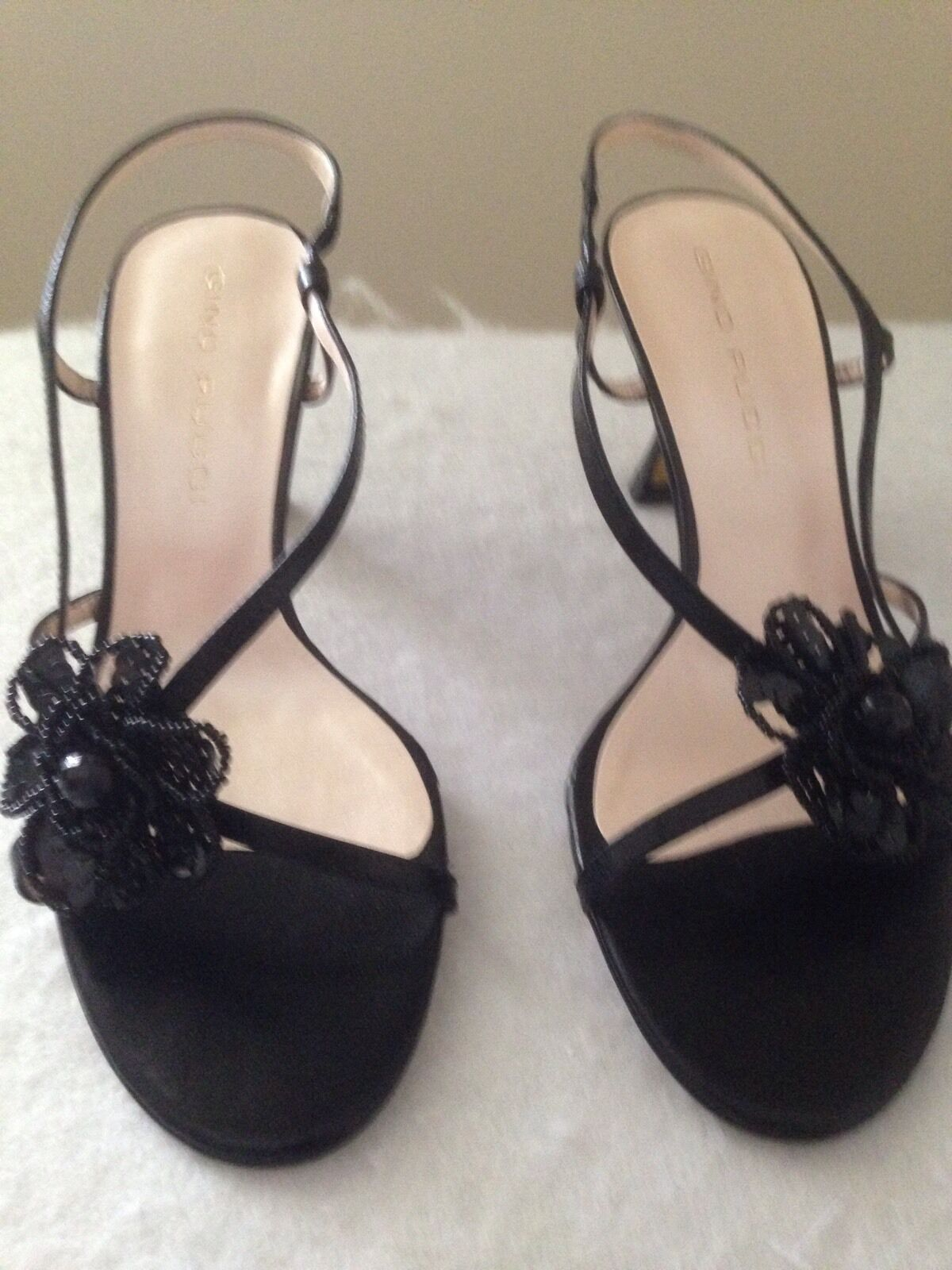Gino Pucci  - BNWT - Roco Black Detailed Shoes - Size 7 RRP 99.95