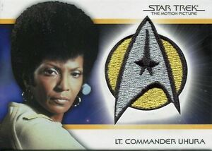 Star Trek Quotable Movies TMP Bridge Crew Patch Card [/250] PC5