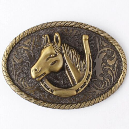 Mens Horse Riding Cowboy Cowgirl Punk Rock Fashion Belt Buckle