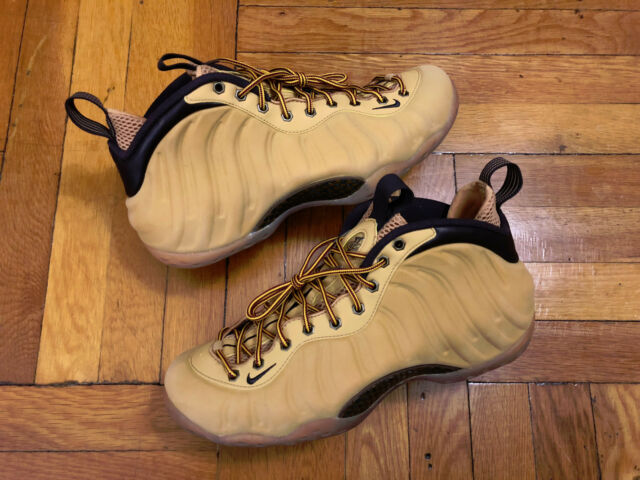 meet cd766 7e355 Worn 2x Nike Air Foamposite One Wheat Haystack Size 12 575420-700 Jordan  Penny