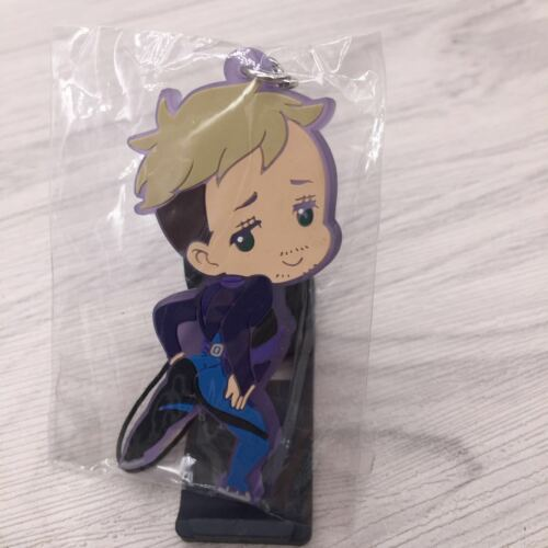 Hot Anime Yuri on ice rubber Keychain KeyRing Rare straps  limited A