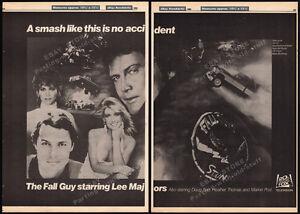 THE-FALL-GUY-Original-1984-Trade-print-AD-TV-promo-LEE-MAJORS-HEATHER-THOMAS