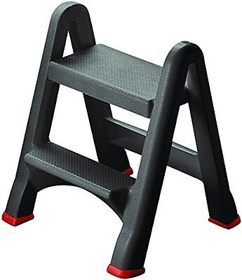 Curver Ladder Mini Two Step Stool Foldable Home