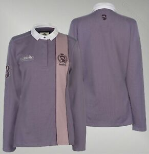 Ladies-Requisite-Soft-Cotton-Long-Sleeve-Polo-Shirt-Sizes-from-8-to-18
