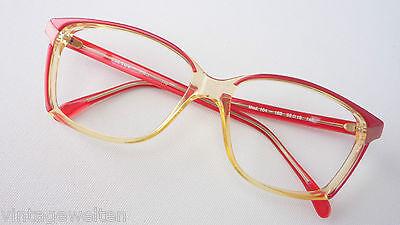 Energisch Seeyou Rote 70erjahre Brille Gestell Für Frauen Oversized Vintagebrille Grösse L Exquisite Handwerkskunst;