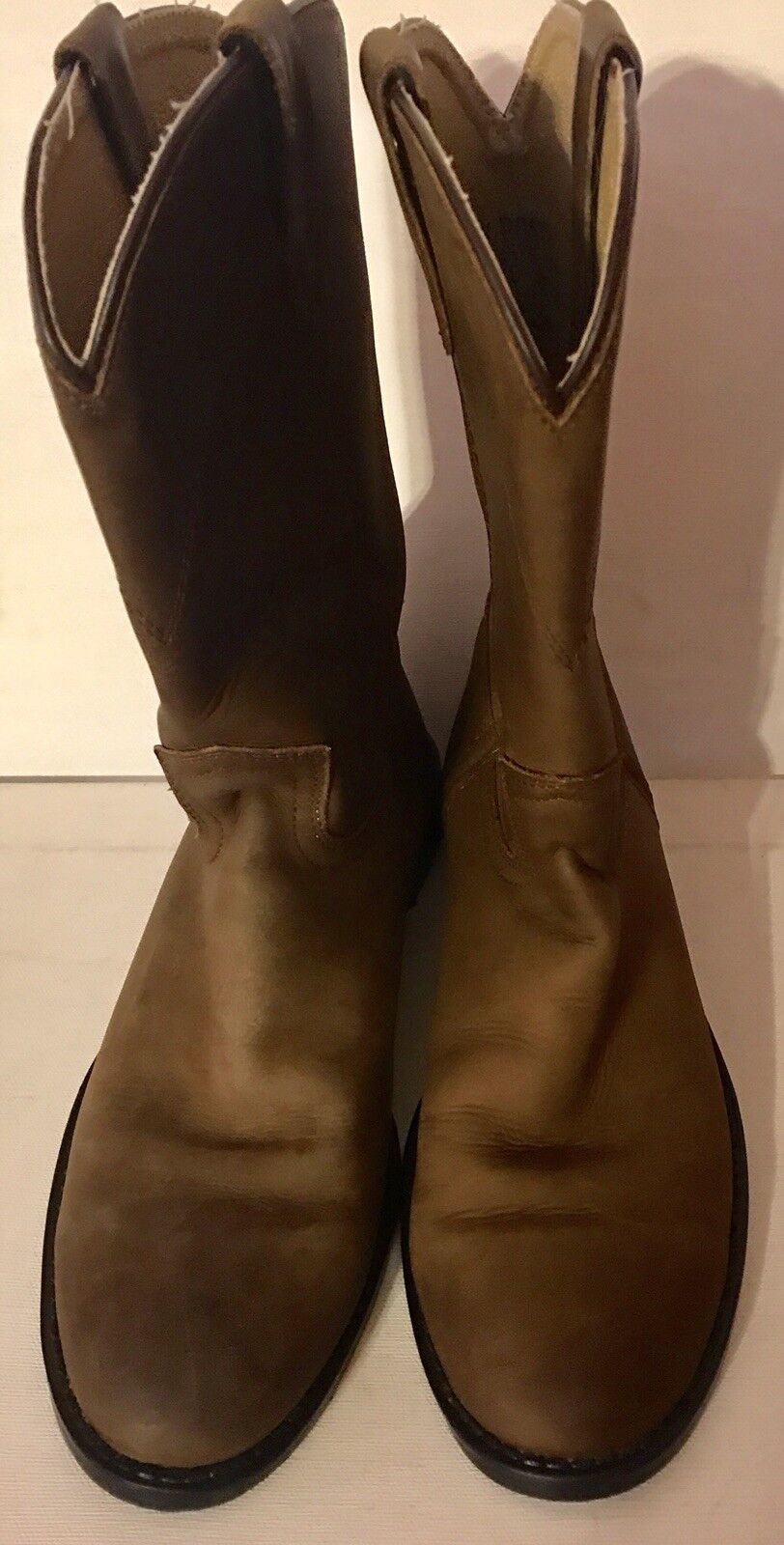 WOMENS WESTERN STYLE COWBOY BOOTS BY DAN POST-SIZE 5D, Pre-Owned