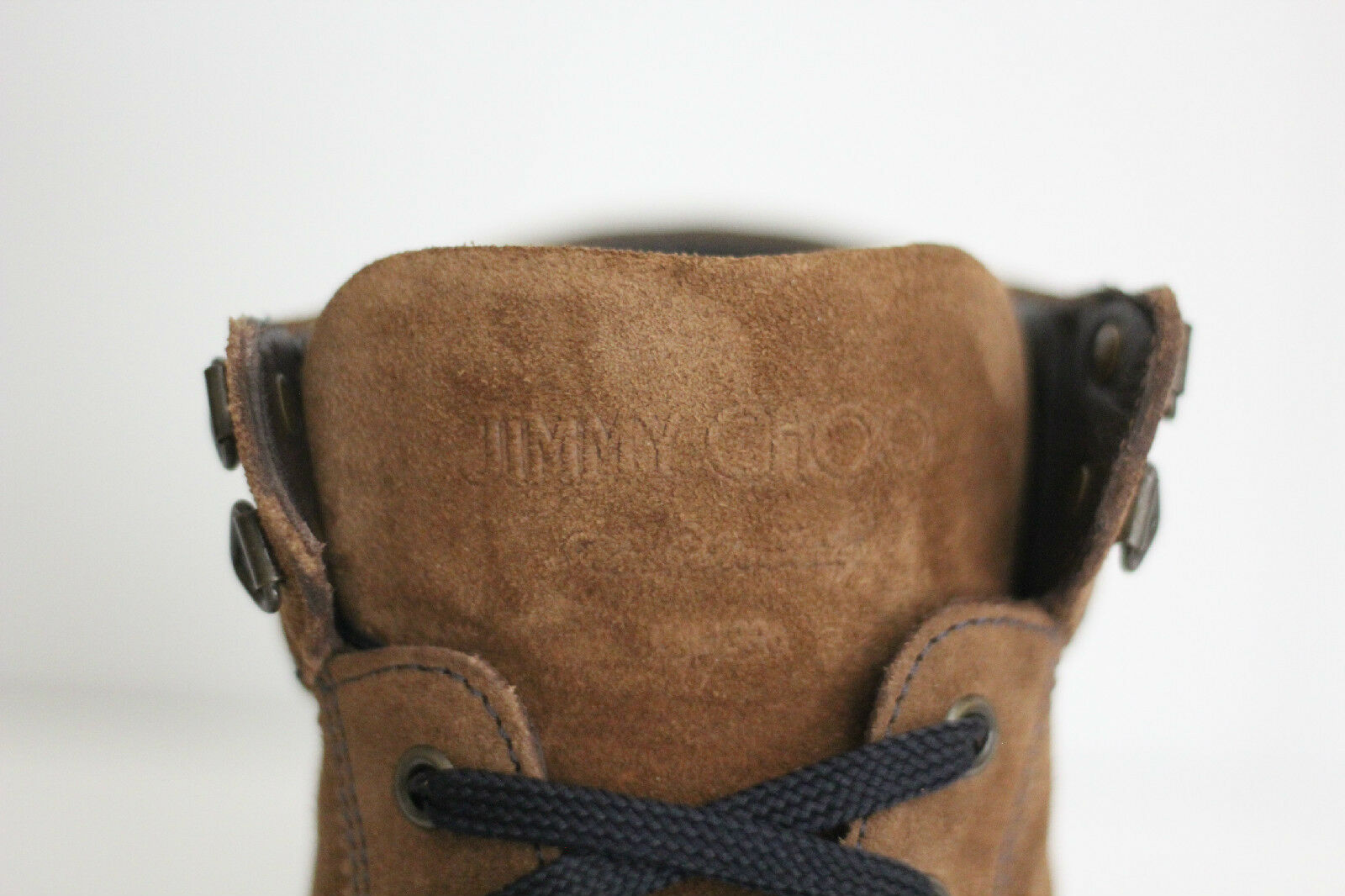 68d847a5544 ... Jimmy Choo  Argyle  High Top Sneakers - - - Brown Suede - Size 45EU ...
