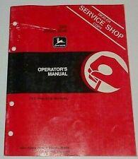 John Deere 555 Offset Disk Operators Owners Maintenance Manual Original H3 Disc