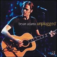 BRYAN ADAMS - UNPLUGGED CD ~ SUMMER of 69~CUTS LIKE A KNIFE~HEAVEN ~ MTV *NEW*