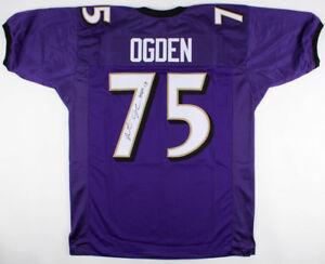 Details about Jonathan Ogden Signed Baltimore Ravens Jersey Inscribed
