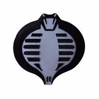 Gi Joe Black Cobra Symbol Embroidered Patch