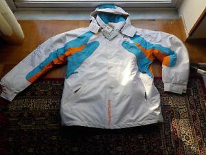 Details zu Chiemsee Plusminus jacket XL men's snowboard ski 15%OFF white breathable NEW