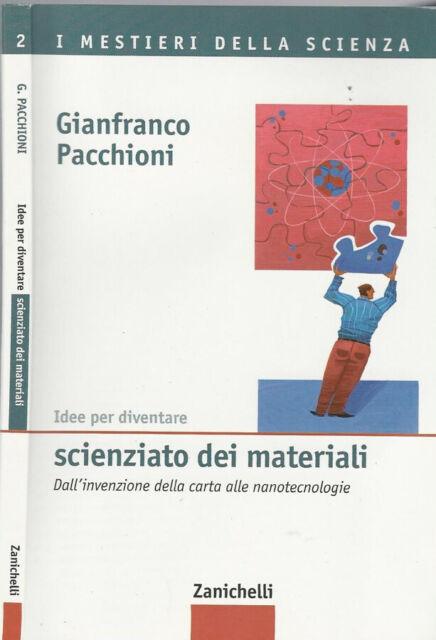 Idee per diventare scienziato dei materiali. Dall'invenzione della carta alle na