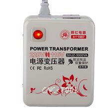 3000w 3000VA 220V-240V to 110V-120V Step Down Voltage Converter Transformer