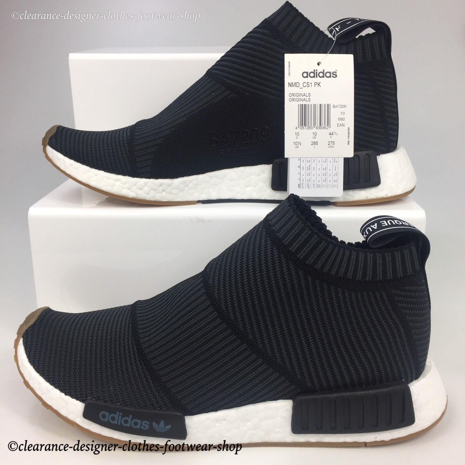najlepszy hurtownik najlepszy nowy koncept adidas Originals NMD Cs1 PK Trainers in Black BA7209 Mens UK 10