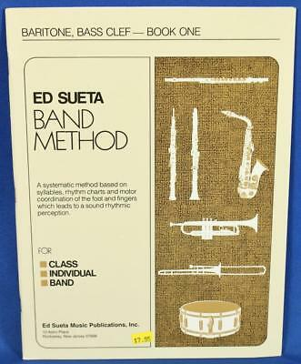 Brass Romantic Ed Sueta Band Method Baritone Bass Clef Book 1 Brass Music Instruction An Enriches And Nutrient For The Liver And Kidney