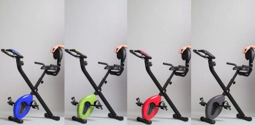 Ciclette XBike Originale Pieghevole Con Maniglie Di Sostegno  VISTA IN TV