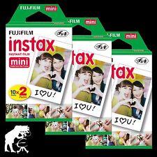 Fuji Instax Mini Sofort Film 60 Fotos für Fuji mini, Polaroid 300, Lomo Instant