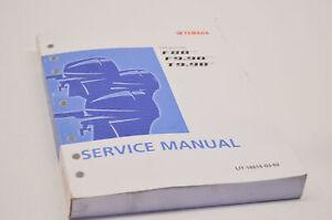 OEM Yamaha LIT-18616-03-62 F8 Service Manual