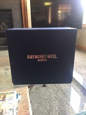 Raymond Weil Othello Desk Clock Limited Edition Brand New 2510-ST-00581