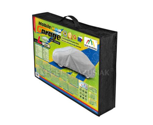 Sedán 425-470cm 3 capas Impermeable UV Transpirable Coche Cubierta Protector Fuerte
