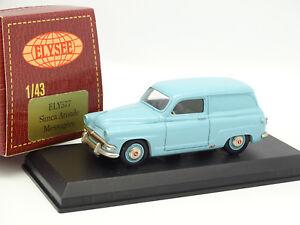 Elysee-1-43-Simca-Aronde-Mensajero-Azul