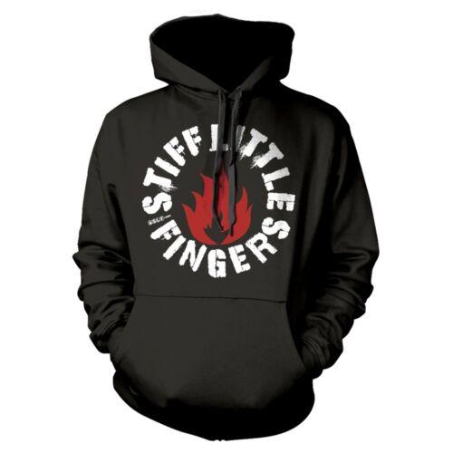 Stiff Little Fingers SLF FLAME Hooded Sweatshirt 2018 Merch