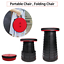 New Portable Chair Telescopic Folding Stool Collapsible for Camping Fishing