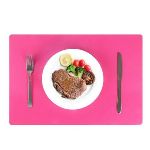 Silicone Table Mat Pad Liner Placemat Non-Slip Waterproof Stick Protector N7