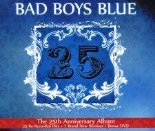 "BAD BOYS BLUE ""25"" 2 CD+DVD NEU"