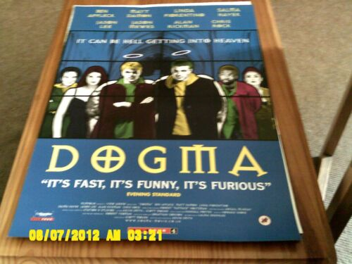 ben affleck, matt damon, alan rickman, chris rock Movie Poster A2 Dogma