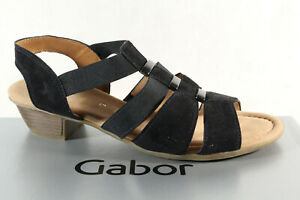 Details about Gabor Sandals Sneakers Sandal Real Leather Wide G New