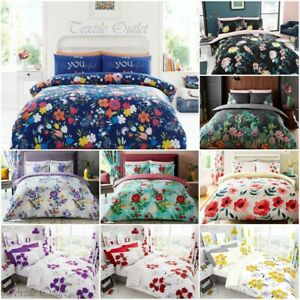 Duvet-Cover-with-Pillow-Case-Quilt-Cover-Bedding-Set-Single-Double-King-All-Size