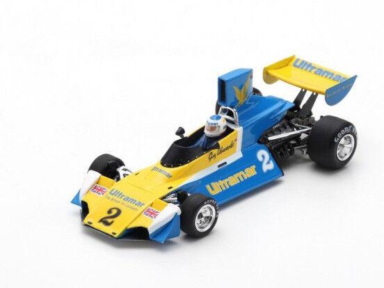 Spark Model 1 43 s7100 Brabham BT42 F.1  2 Winner or Cup 1976 Guy Edwards  NEW