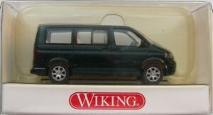 VW-Bus-T5-Modell-Wiking-1-87-H0-Multivan-Gruen-Metallic-NEU-amp-OVP