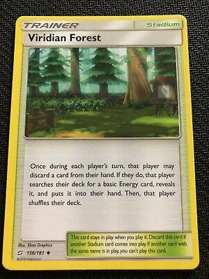 Pokemon: Viridian Forest Uncommon 156//181 Sun /& Moon: Team Up