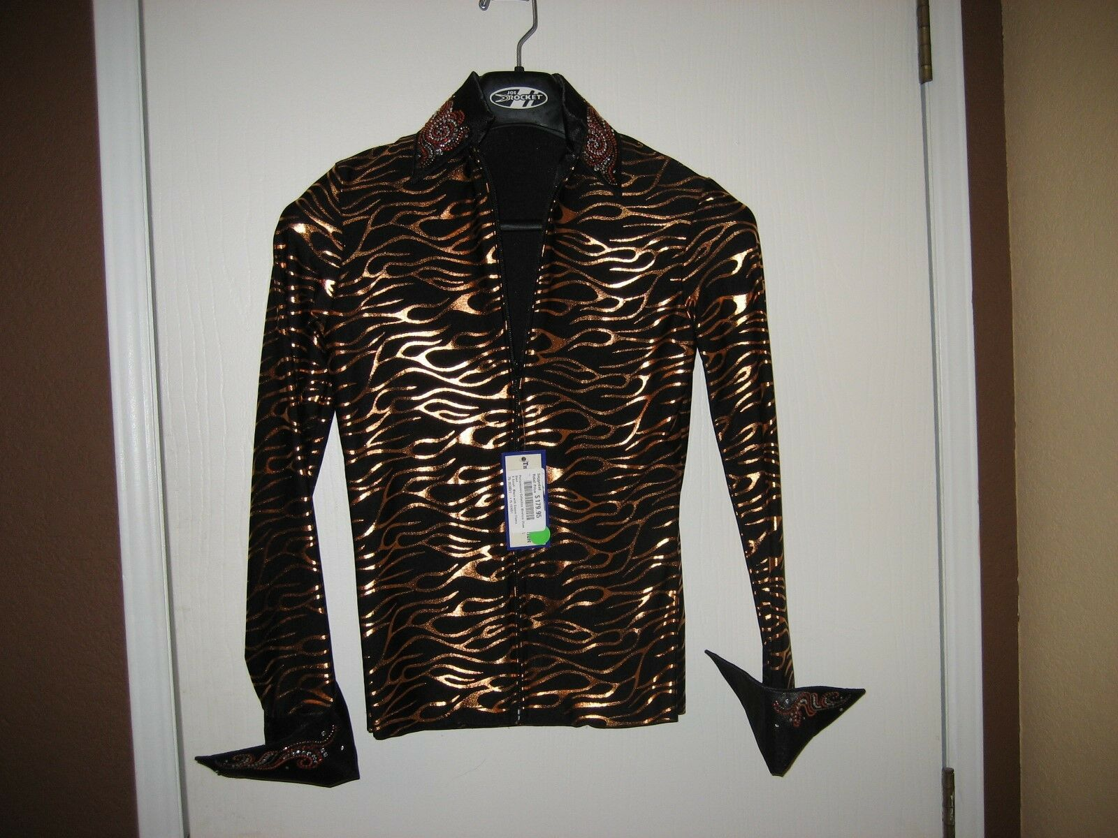 New Western Pleasure Horse  show shirt size adult XS new with tags  best service