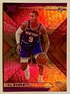 2019-20 XR RJ Barrett Pink Holo Rookie Refractor SP Parallel RC #273 Knicks Duke