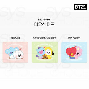 BTS BT21 Official Authentic Goods PVC Mouse Pad Baby Ver by Royche +Traking Num