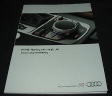 Bedienungsanleitung MMI Navigation plus Audi 2012 Handuch Betriebsanleitung
