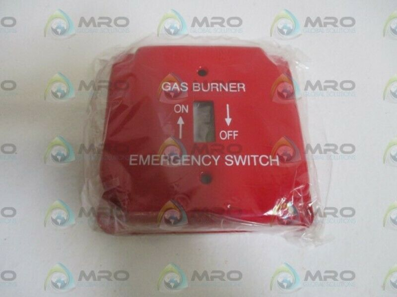 LOT OF 7 GAS BURNER EMERGENCY SWITCH COVERNEW NO BOX