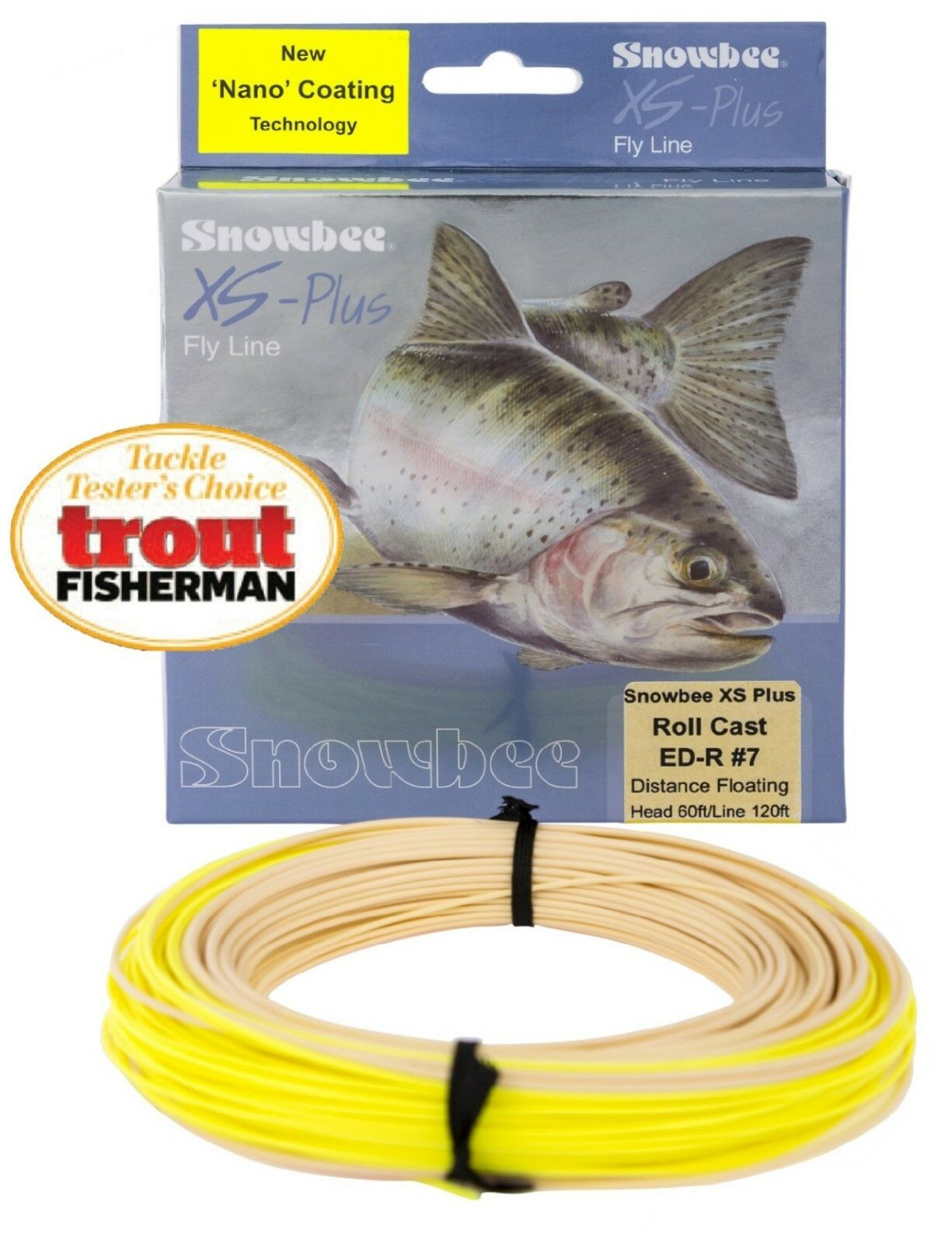 Snowbee XS-Plus Nano Roll Cast Floating Fly Lines