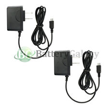 2 NEW Travel Battery Home Wall Charger for Android Samsung Galaxy Note 1 2 3 4 5