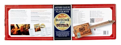 Hinkler BBG Electric Blues Cigar Box Slide Guitar Kit Zigarrenkiste Gitarre Buch